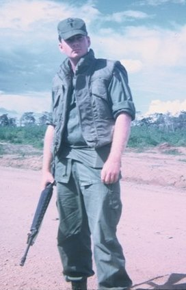 Ambush site, Kontum Province, Republic of Vietnam. First Lieutenant Lee Martin, 1970