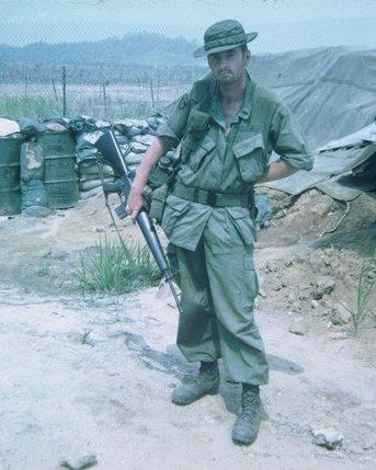 First Lieutenant Lee Martin, village of Tri Le, Republic of Vietnam, 1970